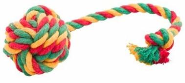 Мячик для собак Doglike канатный средний (D-2357)