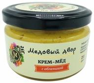 Крем-мед Медовый двор с облепихой