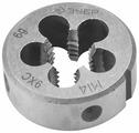 Плашка ЗУБР 4-28022-14-1.5 мастер круглая ручная мелкий шаг М14x1.5