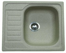 Врезная кухонная мойка ЕМАР 5801 58х50см искусственный гранит