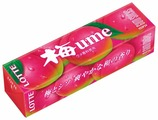 Жевательная резинка Lotte Confectionery Ume со вкусом японской сливы и крапивы , 26г
