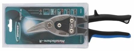 Строительные ножницы правые 250 мм Gross Piranha 78323