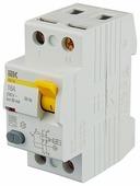 УЗО IEK 30мА тип AC ВД1-63 MDV10-2-016-030 2 полюса