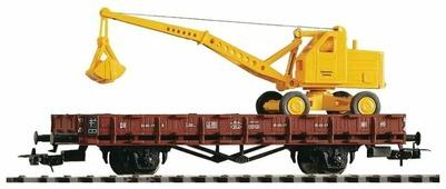 PIKO Грузовая платформа R61, серия Classic-Professional, 54128, H0 (1:87)