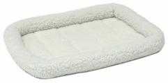 Лежак для кошек, для собак Midwest QuietTime Deluxe Fleece Bolster 53х30х8 см