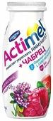 Кисломолочный напиток Actimel клюква-малина-чабрец 2.5%, 100 г