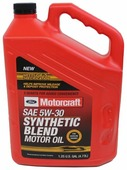 Моторное масло Ford Motorcraft SAE 5W30 Synthetic Blend 4.73 л