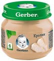 Пюре Gerber кролик (с 6 месяцев) 80 г, 1 шт.