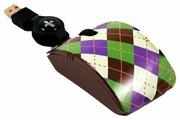 Мышь Bodino RINGO Black-Green USB