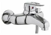 Смеситель для ванны с душем Ledeme H07 L3207 однорычажный хром
