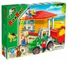 Конструктор BanBao Ферма 8573 Трактор и хранилище для сена