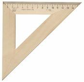 Красная Звезда Угольник деревянный 45° 16 см (С16)