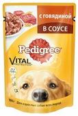 Корм для собак Pedigree для здоровья кожи и шерсти, для здоровья костей и суставов, говядина