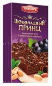 Торт Пекарь Шоколадный принц с арахисом и изюмом