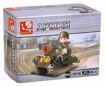 Конструктор SLUBAN Сухопутные войска M38-B0118
