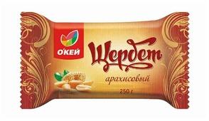 Щербет О'КЕЙ арахисовый 250 г