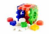 Сортер Пластмастер Логический Куб