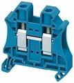 Зажим клеммный проходной Schneider Electric NSYTRV102BL