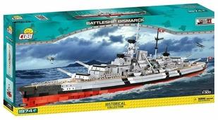 Конструктор Cobi Small Army World War II 4810 Линкор Bismarck