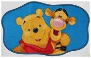 Придверный коврик VELCOC для детей на прорезиненой основе Disney Винни Тигра 15224
