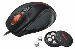 Мышь Trust GXT 33 Laser Gaming Mouse Black USB
