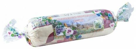 Подушка-валик Крымская Натуральная Коллекция Можжевельник и лаванда 10 х 30 см