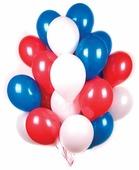 Набор воздушных шаров Поиск Триколор (30 шт.)