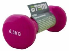 Гантель цельнолитая ATEMI AD0505 0.5 кг