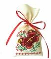 ZENGANA Набор для вышивания бисером и нитками Саше Аромат лета 8 х 15 см (М-021)