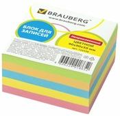 BRAUBERG Блок для записей непроклеенный 9x9x5 см (122339)