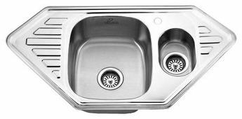 Врезная кухонная мойка MELANA MLN-9550 95х50см нержавеющая сталь