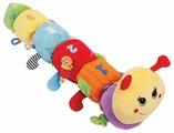 Развивающая игрушка Happy Snail Гусеница Мари