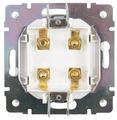 Телекоммуникационная розетка Werkel WL07-AUDIOx4, серый