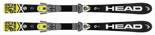 Горные лыжи HEAD WC i.Race Team с креплениями Sx 7.5 Ac Brake (17/18)