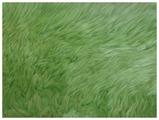 Коврик-шкура HWIT CO. из натуральной овчины четырехшкурная ЗЕЛЕНАЯ
