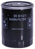 Масляный фильтр MANNFILTER W610/1