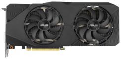 Видеокарта ASUS GeForce RTX 2060 SUPER 1470MHz PCI-E 3.0 8192MB 14000MHz 256 bit DVI 2xHDMI HDCP DUAL OC EVO