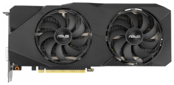 Видеокарта ASUS GeForce RTX 2060 SUPER 1470MHz PCI-E 3.0 8192MB 14000MHz 256 bit DVI 2xHDMI HDCP DUAL EVO Advanced