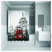 Штора для ванной IDDIS 542P18Ri11 180x200