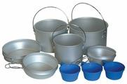 Набор туристической посуды Tramp TRC-002, 9 шт.