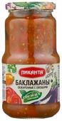Баклажаны обжаренные с овощами Пиканта стеклянная банка 520 г