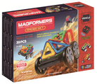 Магнитный конструктор Magformers Vehicle 707006 (63131) Гонки