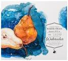 Альбом для акварели Малевичъ White Swan Fin 19 х 17 см, 200 г/м², 20 л.