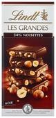 Шоколад Lindt Les Grandes темный с цельным фундуком