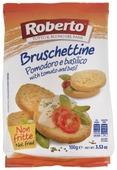 Хлебцы пшеничные Roberto со вкусом томатов и базилика