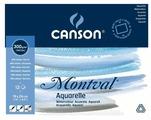 Альбом для акварели Canson Montval склейка 24 х 19 см, 300 г/м², 12 л.
