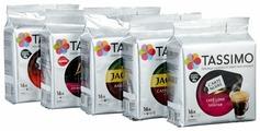 Кофе в капсулах Tassimo набор «Черный кофе» (80 капс.)