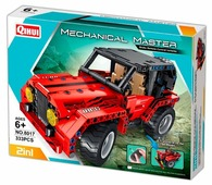 Электромеханический конструктор QiHui Mechanical Master 8017 Странники дорог 2 в 1