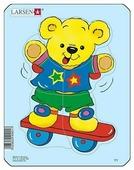 Рамка-вкладыш Larsen Плюшевые медвежата в ассортименте (Y1), 5 дет.