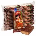 Конфеты Konti Джек Шоколадные истории, вафельная начинка, пакет